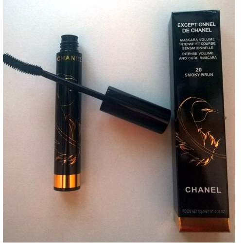 ТУШЬ CHANEL EXCEPTIONNEL DE CHANEL MASCARA VOLUME 20 SMOKY BRUN