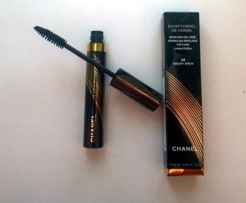 ТУШЬ CHANEL EXCEPTIONNEL DE CHANEL MASCARA GEL IRISE SMOKY BRUN