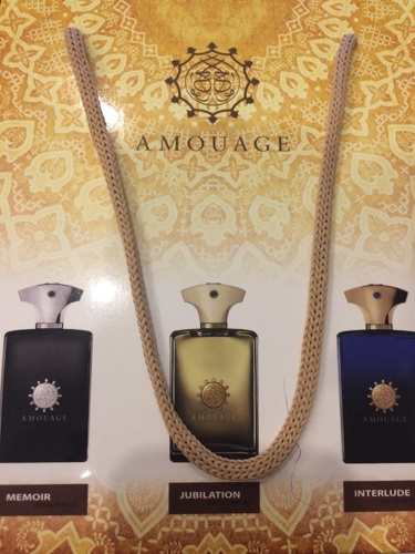 Подарочные наборы Amouage 3*15ml Memoir, Jubilation, Interlude