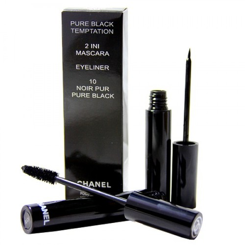Chanel Pure Black Temptation 2 in 1 тушь+подводка