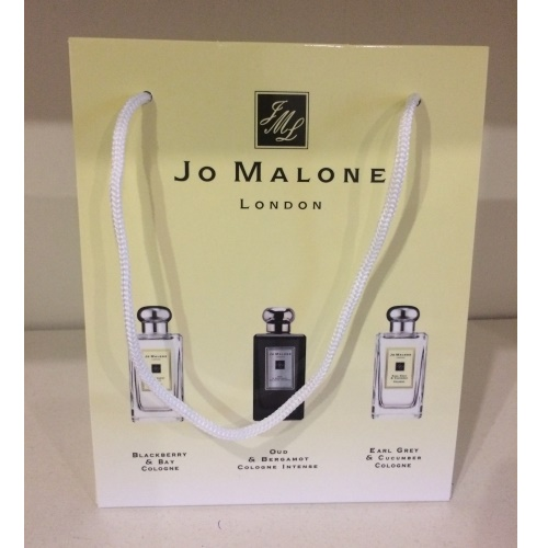 Подарочные наборы Jo Malone Набор Blackberry Bay + Oud Bergamot + Earl Grey Cucumber 3*15ml